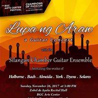 Lupa ng Araw a concert by the Silangan Chamber Guitar Ensemble