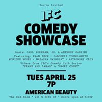 IFCs Comedy Showcase