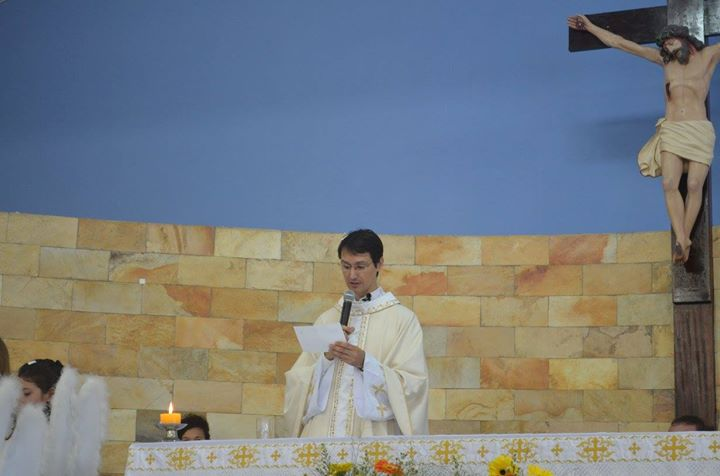 Missa de despedida - Padre Marcos Ricardo Friedrich at Paróquia ...
