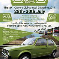 2017 MK1 Golf Annual Gathering