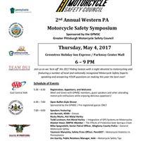 Western PA Motorcycle Safety Symposium