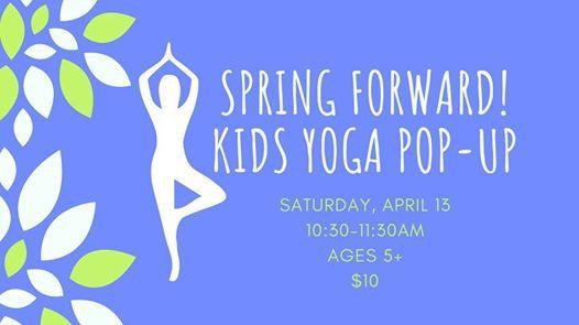 Spring Forward Yoga Pop-Up
