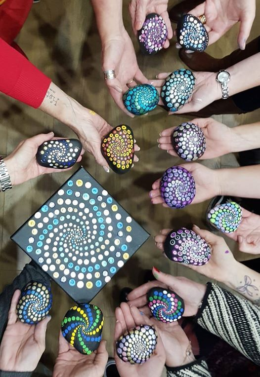 Mandala Art Dot Painting Workshop for Beginners at Sew Creative