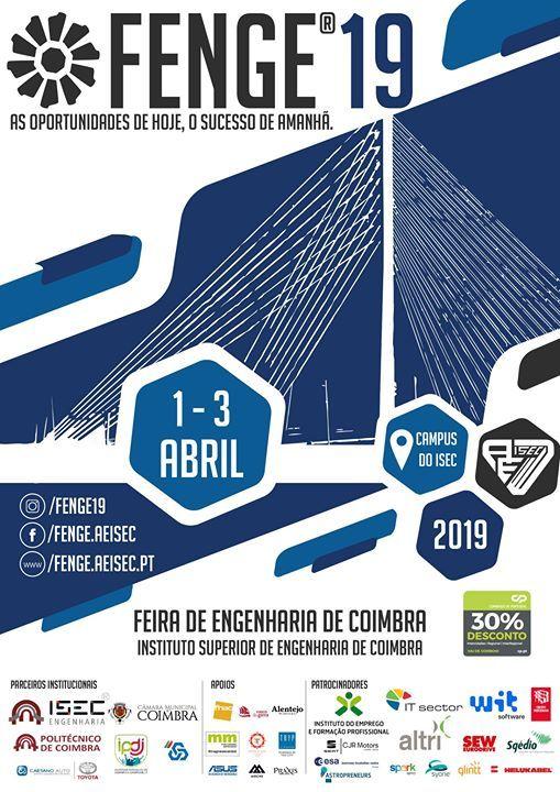 FENGE 19 - Feira de Engenharia de Coimbra