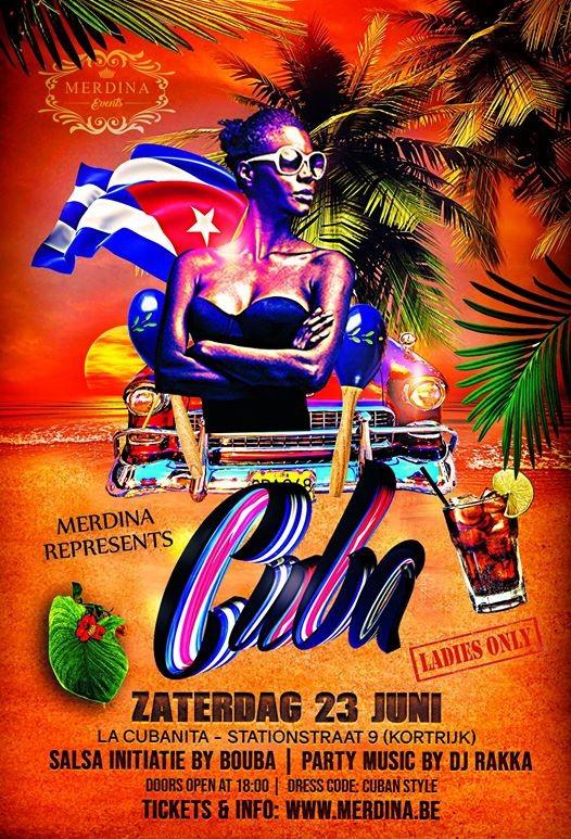 Merdina Represents Cuba