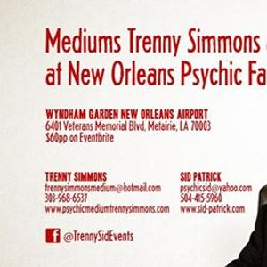 Mediums Trenny Simmons and Sid Patrick at New Orleans