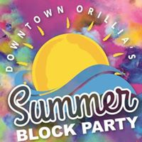 Downtown Orillias Summer Block Party &amp 150th Mural Reveal