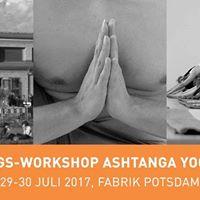 Ashtanga Workshop in Potsdam Tag 2
