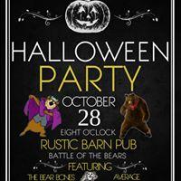 Halloween Party with Bear vs Bear