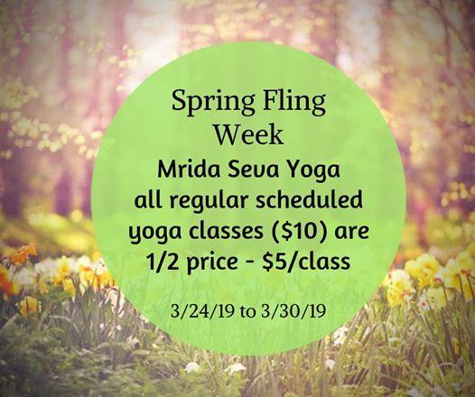 Spring Fling week 2019
