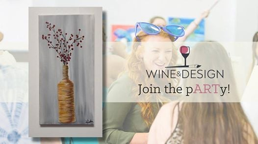 Paint Sip Wrapped In Love At Wine Design Stafford Va