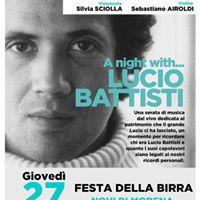 A night with Lucio Battisti