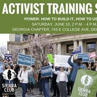 Activist Training Series - Power How to Build It How to Use It