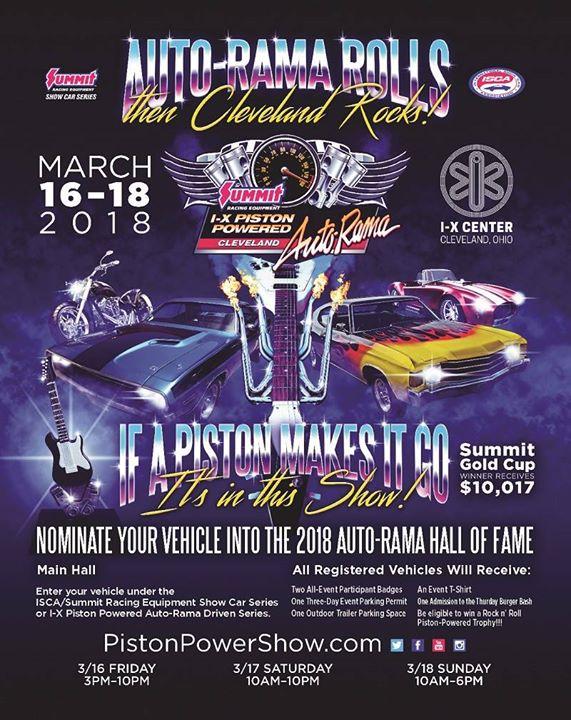 Summit Racing AutoRamaCleveland OH At IX Center Cleveland - Ix center car show 2018