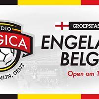 Engeland - Belgi LIVE at Studio Belgica