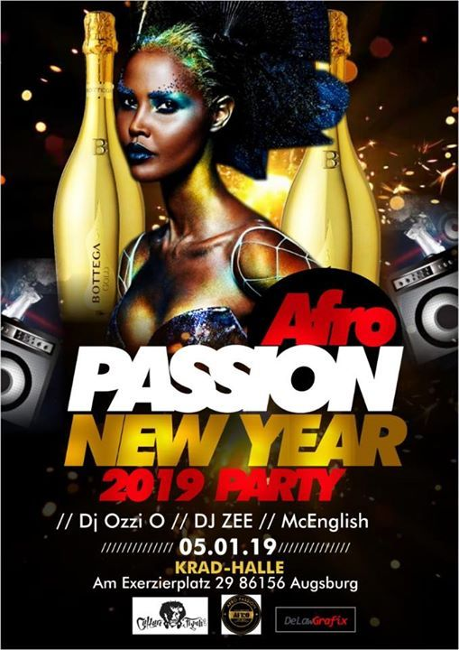 Afro Passion New Year Party.