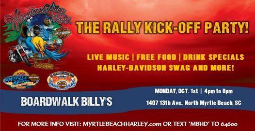 Rally Kick Off Party 2018 At Boardwalk Billy S Nmb Carolina