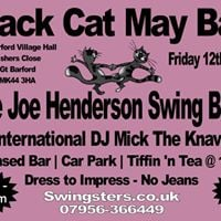 Black Cat May Ball featuring The Joe Henderson Swing Band