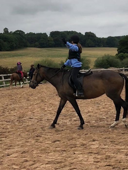 New Sunday childs small group beginner riding lessons