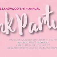 Republic Title Lakewoods 9th Annual Pink Party