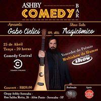 Ashby Comedy apresenta Gabe Cielici