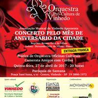 Concerto com a Orquestra Pr-Cultura de Vinhedo