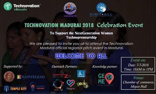 Technovation madurai 2018 celebration event at metoomentor madurai technovation madurai 2018 celebration event solutioingenieria Images