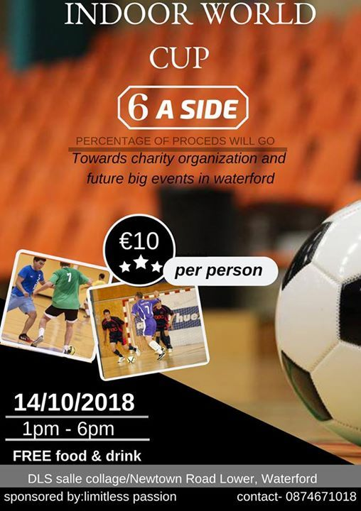 Indoor World Cup - 6A side