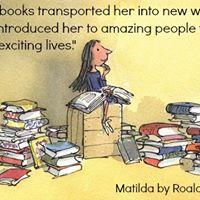 Summer Holiday Kids Book Club Matilda by Roald Dahl