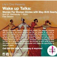 Free Wake up Talks Women For Women Circles