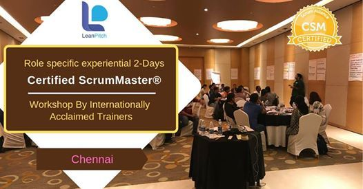 Certified Scrum Master (CSM) Training - Chennai