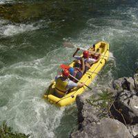 Cetina 2017. Natjecanje gumeni kanu na divljim vodama