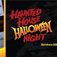 Haunted House Halloween Night