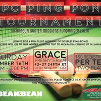 GPC Ping Pong Tournament  Nicaragua Missions Fundraiser
