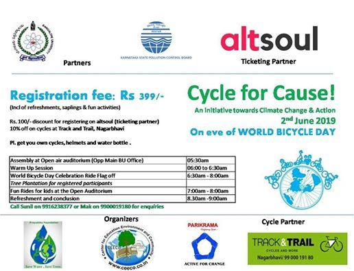 Celebrating World Bicycle Day & World Environment Day