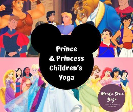 Prince & Princess Childrens Yoga