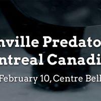 Nashville Predators vs. Montreal Canadiens