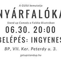 GUSU Nyrfalka - Stand up comedy a Falka Bisztrban