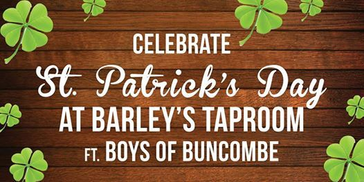 St. Patricks Day w Boys of Buncombe (Irish Swing) - Free