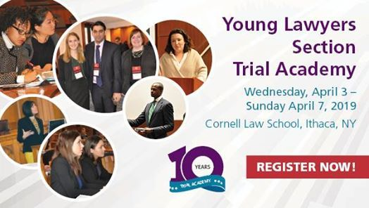 Young Lawyers Section Trial Academy