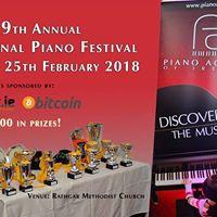 9th Annual National Piano Festival