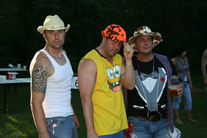 White Trash Bash Outfit Ideas The Family Line Up We Got Most Of