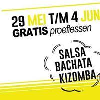 Gratis proeflessen salsa bachata en kizomba in de Escape