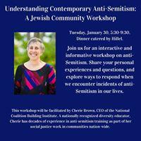 Understanding Anti-Semitism Jewish Community Workshop