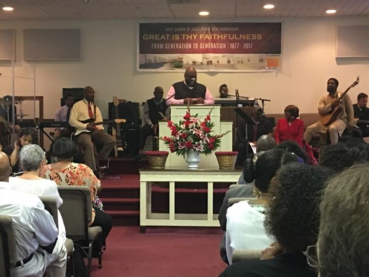 Annual Pastor Charles and Mattie Scott Memorial Celebration.