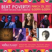 Beat Poverty - A Concert for Whole Planet Foundation