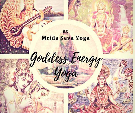 Goddess Energy yoga-Saraswati