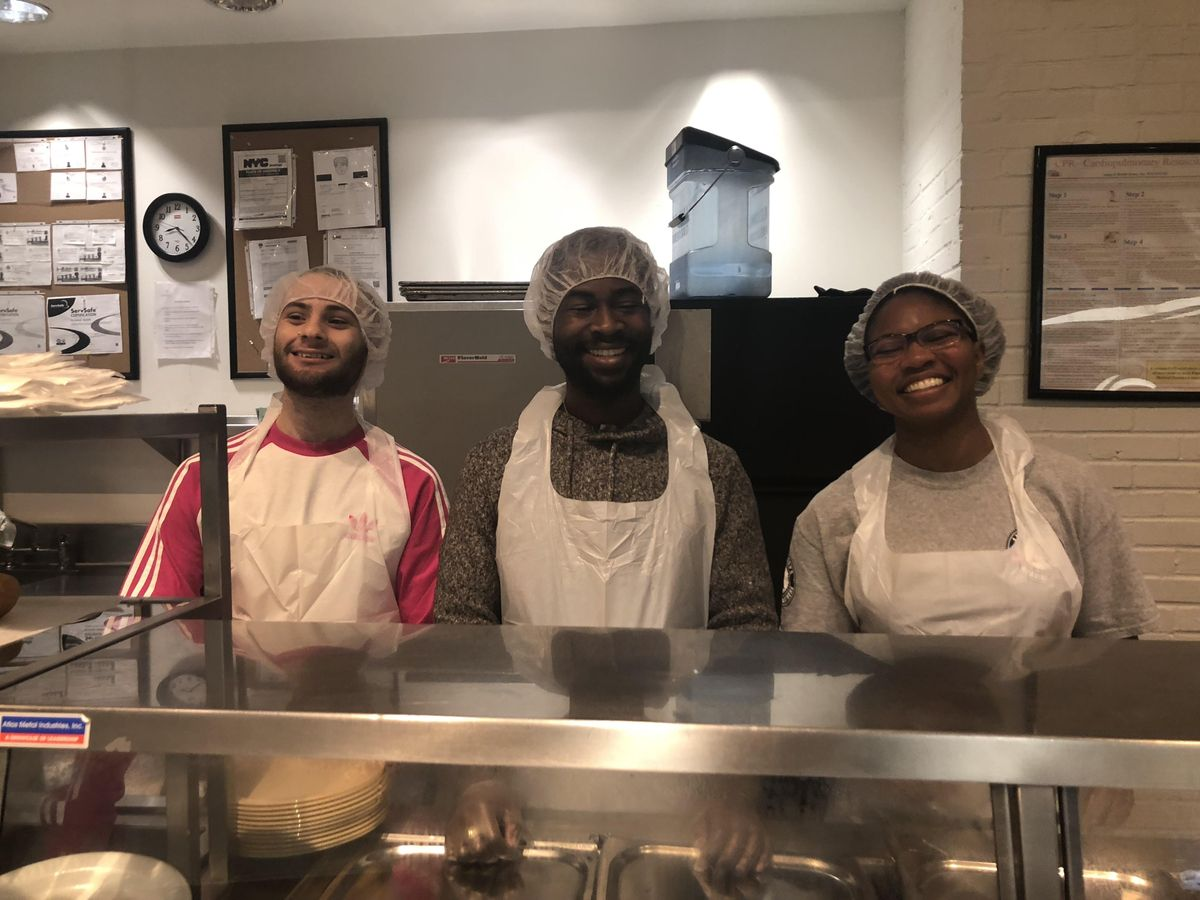 Brunch and Serve Volunteering at St. Johns Bread and Life