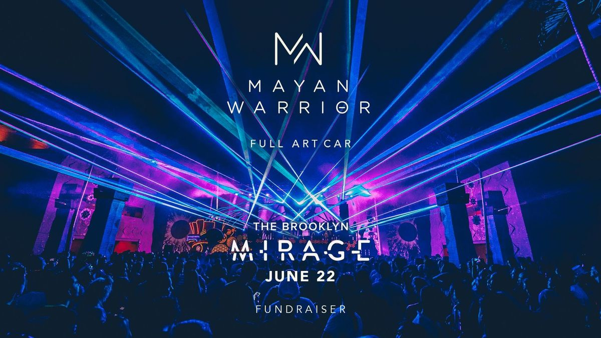 Mayan Warrior (Full Art Car) - Brooklyn Mirage