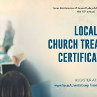 2017 Local Church Treasurer Certification